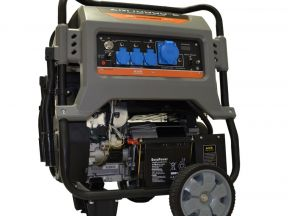 Бензиновый генератор mitsui power ECO ZM 10000 E