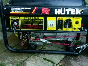 Генератор бензин 92,хутер 220 В, 3 кВт