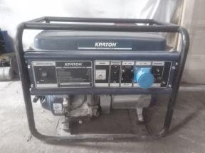 Бензиновый генератор Кратон 5квт