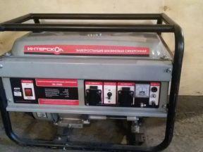Генератор бензиновый интерскол эб-2500, 2.2кв