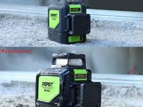 Лазерный уровни налив Xeast XE-902 8 зеленых линий