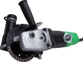 Мощный штроборез Hitachi с отводом пыли