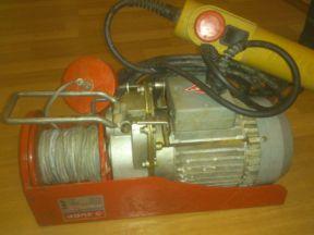Электрическая лебедка (Электротельфер)
