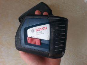 Линейный лазерный нивелир уровень Bosch GLL 2-50