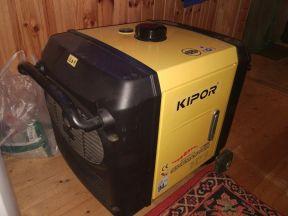 Инверторный генератор kipor ig3000 2,8 кВт