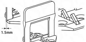 DLS, система укладки плитки