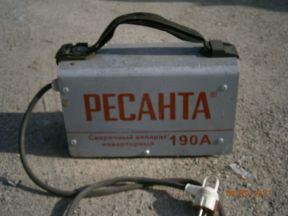 Сварочный аппарат Ресанта саи 190, инверторный