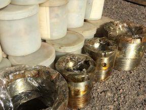 Алмазные коронки для бурения d59 и d93 мм новые