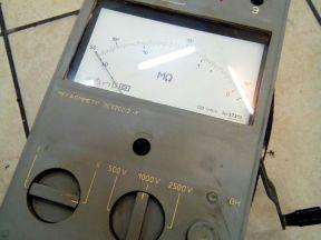 Мегаомметр сэ0202/2-Г