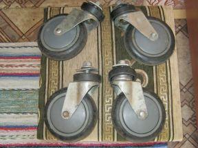 Колеса для тележки (диаметр 125 мм.)