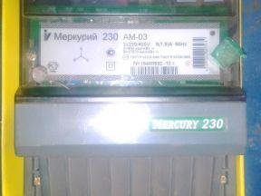 Счетчик Меркурий 230 ам-03