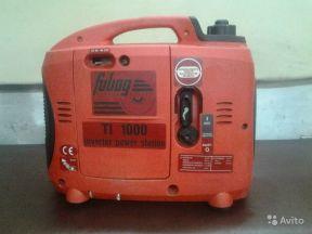 Генератор 220В бензиновый Fubag TI 1000 (0.9-1кВт)