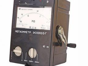 Мегаомметр эсо-202/2Г