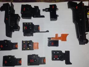 Выключатели и кнопки для электроинструмента