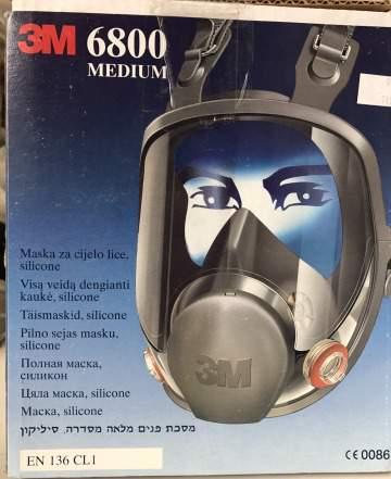 Полная маска 3М 6000 серии (6800) размер(М) в Москве e7c69fed248b2
