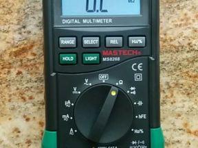 Новый цифровой мультиметр Mastech MS8268