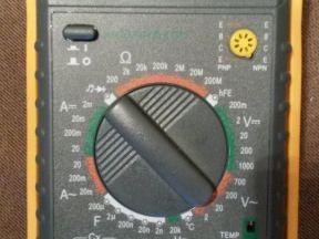 Мультиметр цифровой MY60+ кейс