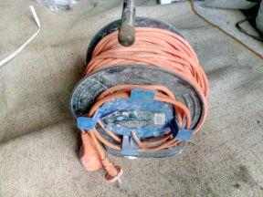 Кабельный барабан с кабелем 40м elecraline