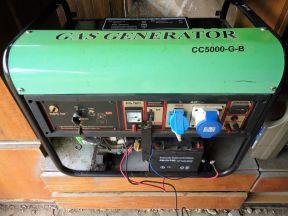 Газовый генератор Green Пауэр CC 5000 G-B