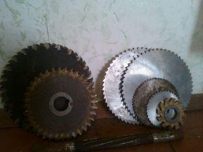 Фрезы дисковые по металлу