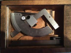 угломер с нониусом, инструмент СССР