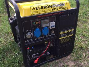 Генератор Бензиновый elecon 7,2 кВт новый