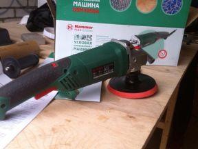 Угловая шлифовальная машина Hammer USM 1050 A