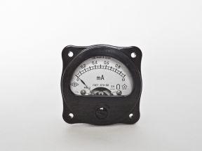 Миллиамперметр М5-2 (0 - 1,0 мА), СССР
