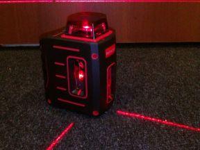 Уровень лазерный на 360 градусов, 3хлучевой