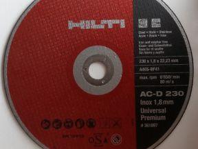 круги отрезные hilti AC-D 230