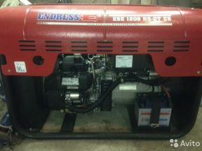 бензогенератор Endress ESE 1206 HS-ГТ ES