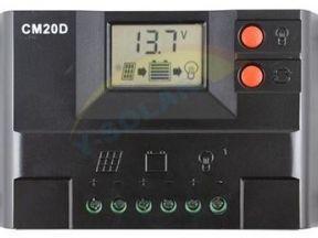 Контроллер заряда для солнечных панелей CM20D 20A