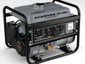 Бензогенератор carver PPG-1200A