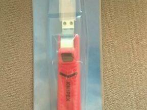 Инструмент для снятия изоляции. Кnipex 1620165sb