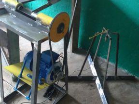 Станок+Стол для плетения сетки рабицы