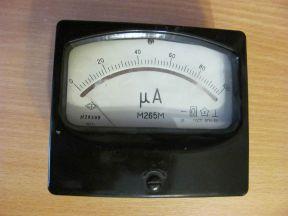 Микроамперметр М265М 100мА