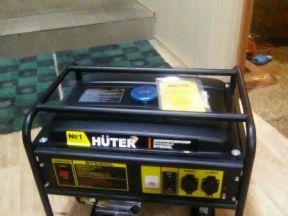 Электростанция Huter DY6500L