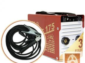 Сварочный инвертор торус-175 терминатор-2 + провод