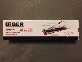 Новый плиткорез Biber 2-х функциональный 500mm под