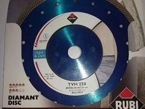 Алмазный диск rubi tvh 250