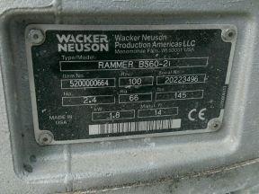 Wacker neuson BS 60-2I