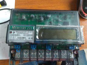 Счётчик электроэнергии Меркурий 231 аt-01