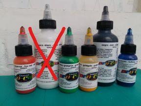 Проф. краска для аэрографии hansa pro-color в асс