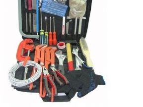 Набор инструмента сантехника с сумкой