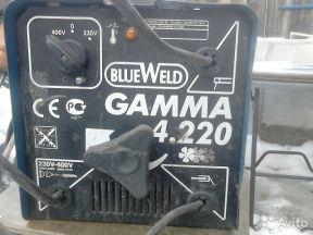 б/у сварочный аппарат Blue Weld Гамма 4