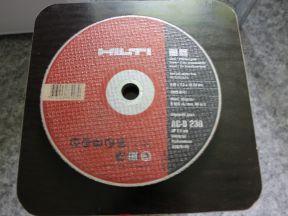 Отрезной диск hilti AC-D 230 Ап 2.5 MM