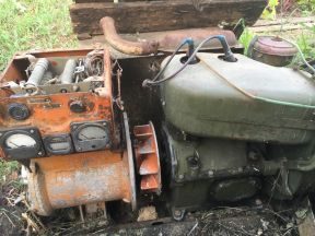 Генератор бензиновый и двигатель уд 2