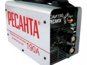 Аппарат сварочный Ресанта саи 190 инверторный (саи