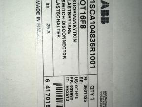 Выключатель нагрузки ABB OT16F8