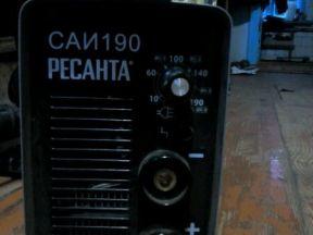 Сварочный аппарат Ресанта саи190